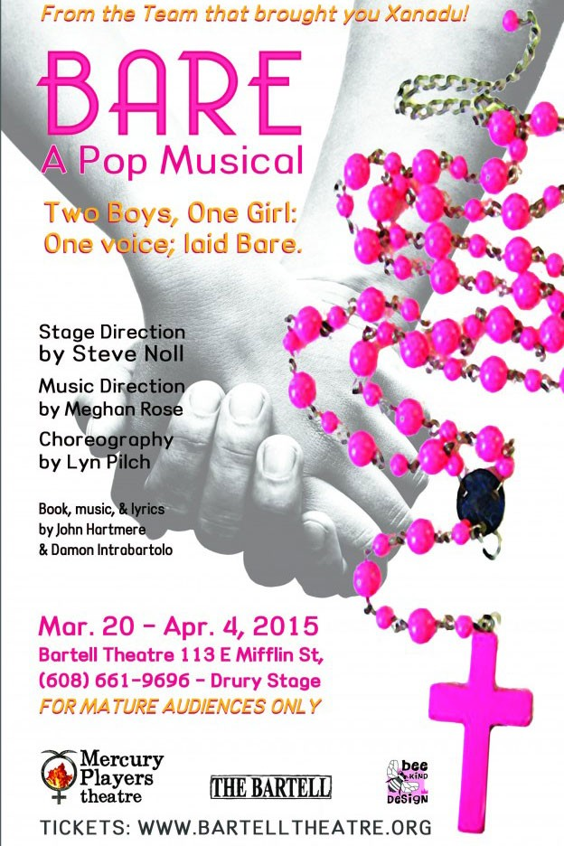 Bare A Pop Musical Poster