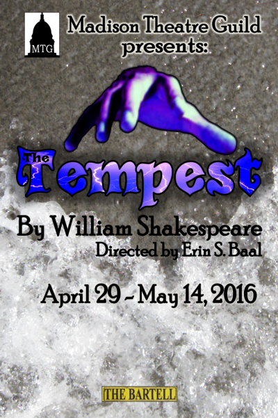William Shakespeare's The Tempest Poster