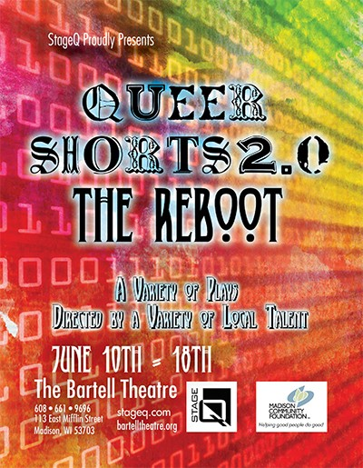 StageQ Presents Queer Shorts 2.0 The Reboot, This the promotional Poster