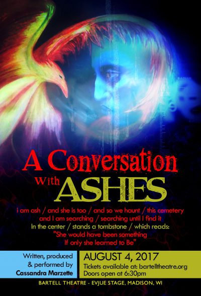 A Conversation with Ashes by Cassandra Marzette