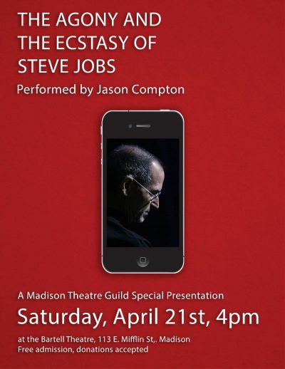 The Agony and the ecstasy of Steve Jobs poster