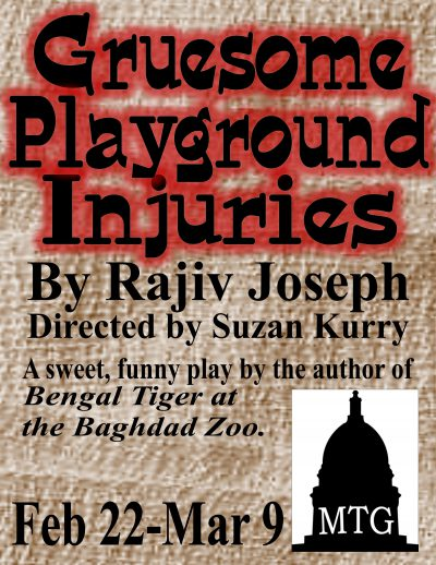 Gruesome Playground Injuries, Presented by Madison Theatre Guild