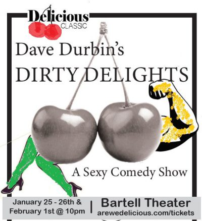Dave Durbin's Dirty Delights, Poster