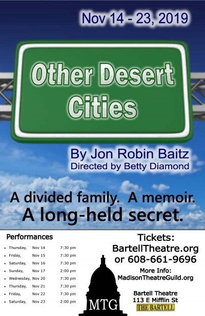 Other Desert Cities, Poster