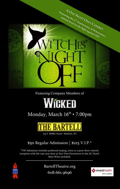 Witches' Night Off, Poster