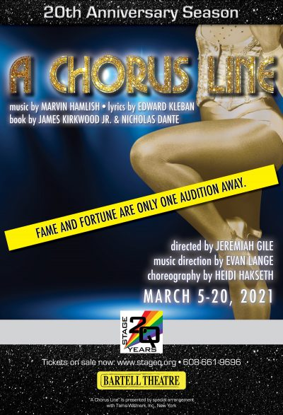 A Chorus Line, presented by StageQ