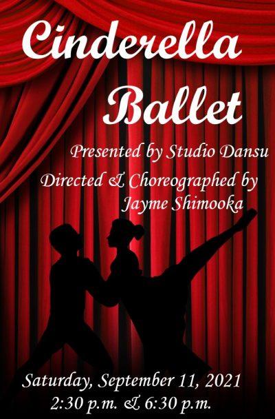 Cinderella Ballet, by Studio Dansu